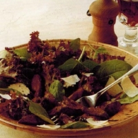 Canadian Florentine Pan-fried Chicken Livers Appetizer