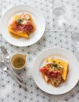 American Panfried Chicken with Lemon and Crisp Prosciutto Appetizer