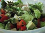 Mexican Mexican Salad With Honey Lime Dressing Appetizer