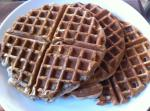 American Apple Cider Waffles Breakfast