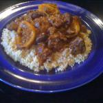 Moroccan Moroccan Lamb Tagine with Lemon and Olives Alcohol
