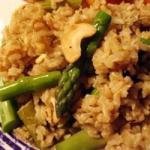 Armenian Asparagus Cashew Rice Pilaf Recipe Dinner