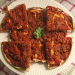 Armenian Lahmahjoon armenian Pizza Recipe Appetizer