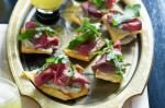 American Babaganoush And Roast Beef Pita Crisps Recipe Appetizer
