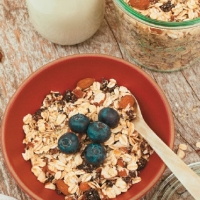 Canadian Cherry Muesli Breakfast