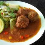 Chilean Meatballs with Chipotle Appetizer
