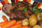 American Roast Fillet of Beef with Mushroomtarragon Sauce Dinner