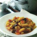 American Pasta Stew with Beef and Veal Dinner