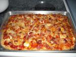 American Calabrian Pizza single Layer Appetizer