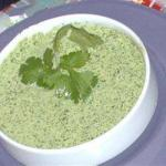 Chinese Sauce with Cilantro Appetizer