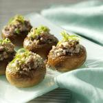 Canadian Potluck Sausagestuffed Mushrooms Appetizer