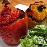 American Peppers Stuffed with Hack Appetizer