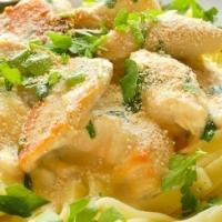 Italian Chicken Fettuccini Dinner