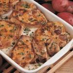 American Scalloped Potatoes and Pork Chops 3 Appetizer