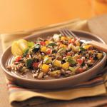American Sweet Pepper Wild Rice Salad Appetizer