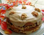 Canadian Maple Walnut Layer Cake With Fudge Frosting recipe