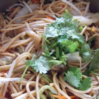 Malaysian Stir Fry Noodles Dinner