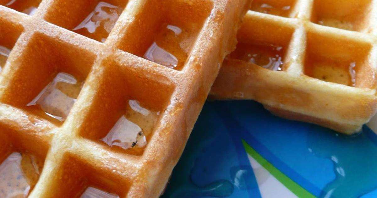 Canadian Waffles With One Egg 1 Dessert
