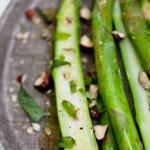 American Asparagus with Hazelnuts and Tarragon Vinaigrette Drink