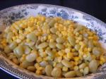 American Baby Lima Beans and Corn Dinner