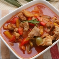 Canadian Apple Cider Pork Dinner