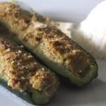 American Courgettes Stuffed with Remnants of Meat Appetizer