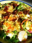 American Chicken Spinach Salad With Warm Bacon Dressing Dinner