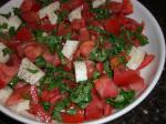 Canadian Tomato and Fresh Mozzarella Salad With Basil Dinner