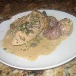 Canadian Chicken with Parsley in Slow Cooker Dinner