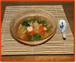 Chinese Chinesestyle Chicken Noodle Soup Dinner