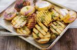 American Chargrilled Thyme Potatoes Recipe Appetizer
