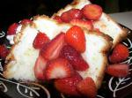 American Angel Food Cake With Fresh Fruit and Lime Drizzle Dessert