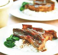 British Hoisin--braised Short Ribs Dinner