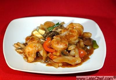 Chinese Hunan Shrimp Appetizer