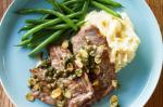 Canadian Veal Piccata With Olive Oil Mash And Green Beans Recipe Dinner