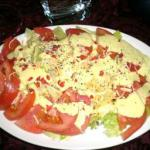 American Honey Mustard Salad Dressing Appetizer