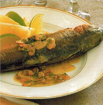 Canadian Trout With Almonds Appetizer
