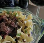 American Beef Burgundy for the Slow Cooker Appetizer