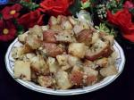 Canadian Awesome Roasted Potatoes With Sour Cream Dip Appetizer