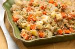 American Bulgur Pilaf with Roasted Carrots and Parsnips Recipe BBQ Grill