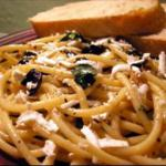 Canadian Pasta with Olives Capers and Parsley Dinner