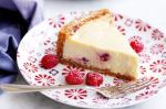 American White Chocolate And Raspberry Cheesecake Recipe 2 Dessert