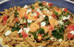 American Pacific Northwest Prawn Ricotta and Spinach Pasta Dinner
