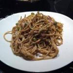 American Espaguetti to the Carbonara Appetizer