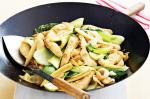 American Chicken Bok Choy And Baby Corn Stirfry Recipe Appetizer