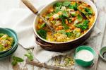 Iranian/Persian Persian Rice Baked With Chicken Kumara And Broccolini Recipe Dinner