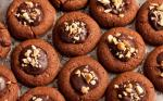 American Peanut Butter and Chocolate Cookies with Ganache Filling Recipe Dessert