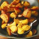 Indian Roasted Garlic Potatoes Chen Appetizer