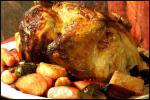 American Lemonherb Chicken With Roasted Vegetables and Walnuts Dinner