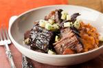 American Red Winebraised Beef with Apple Gremolata Recipe Appetizer
